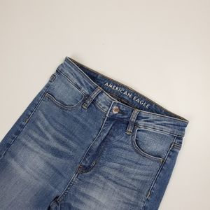 American Eagle super high rise jegging,